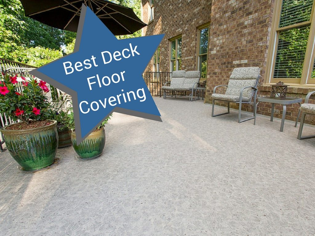 best deck floor covering blog | Citywide Sundecks and Railings
