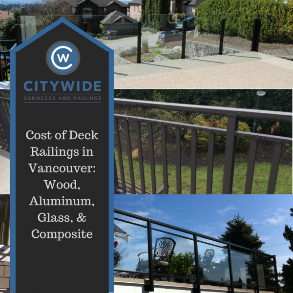 cost of deck railings in vancouver blog | Citywide Sundecks and Railings