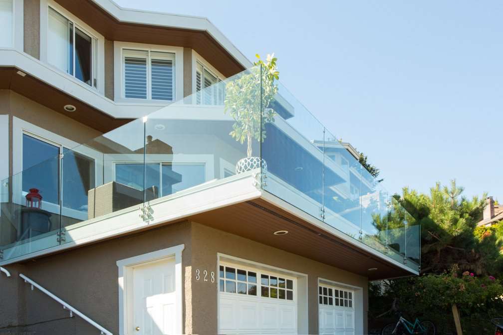 panorama glass railings citywide sundecks and railings