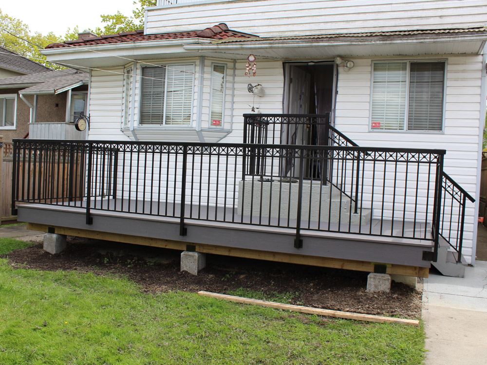composite deck and railing installation | Citywide Sundecks and Railings