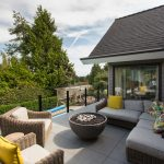 luxury stone pavers roof deck construction | Citywide Sundecks and Railings