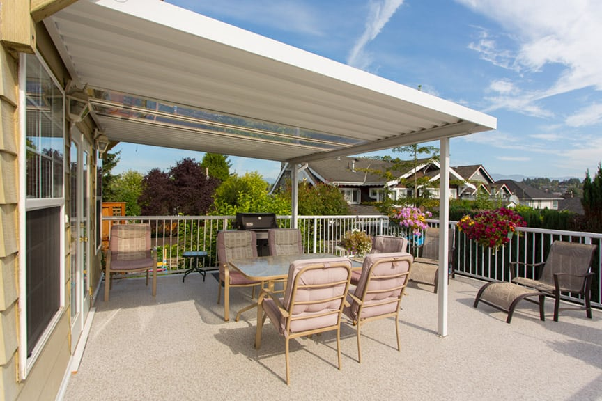 vinyl deck installation | Citywide Sundecks and Railings