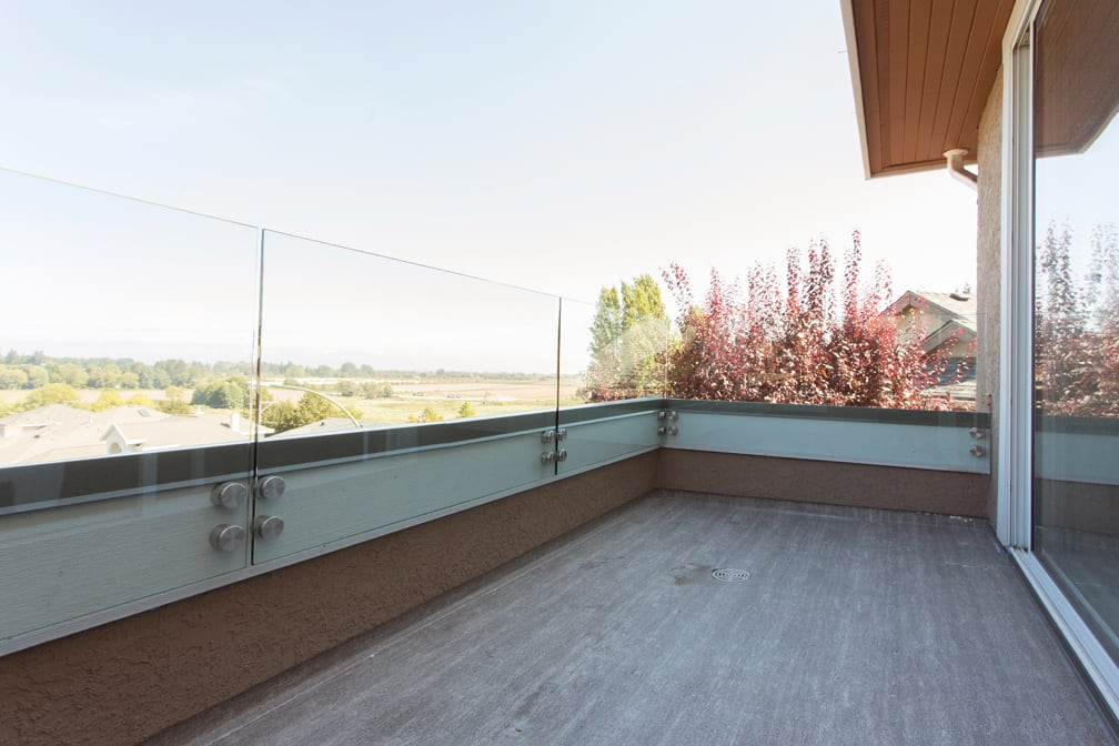 topless parapet glass railings | Citywide Sundecks and Railings
