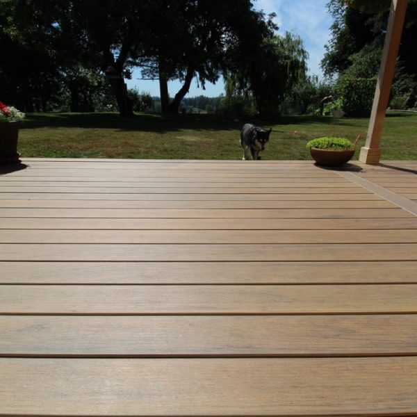 TimberTech composite decking maple ridge | Citywide Sundecks and Railings