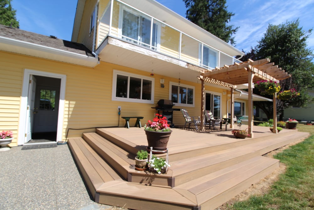 AZEK composite decking maple ridge | Citywide Sundecks and Railings