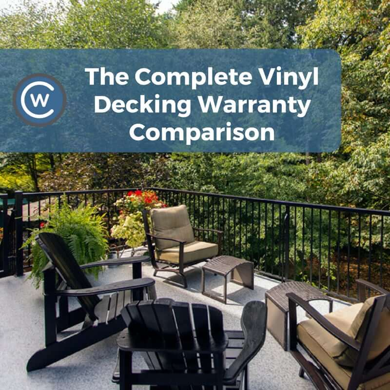 Complete Vinyl Decking Warranty Comparison | Citywide Sundecks and Railings