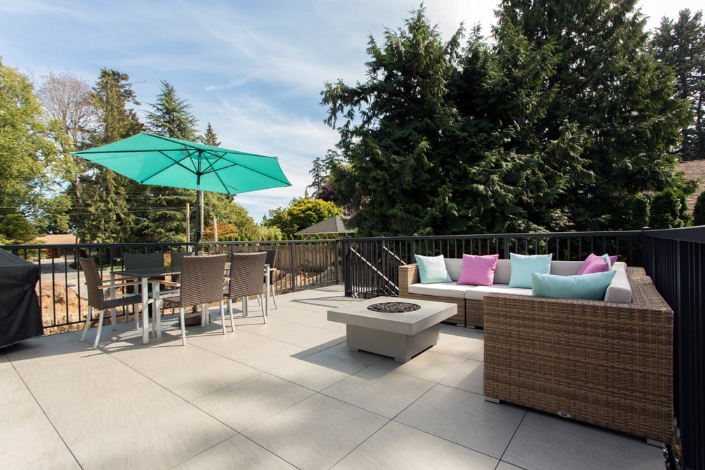 luxury patio installation | Citywide Sundecks and Railings