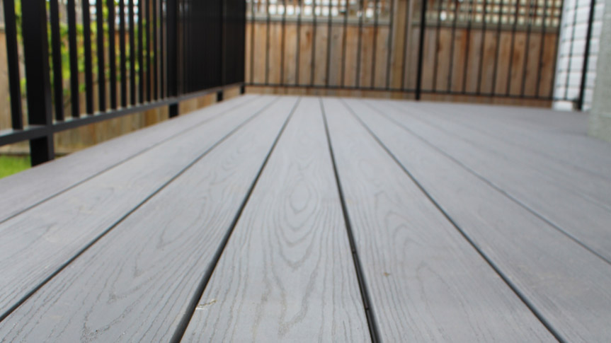composite decking installation | Citywide Sundecks and Railings