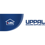 Uppal building supplies partner logo | Citywide Sundecks and Railings