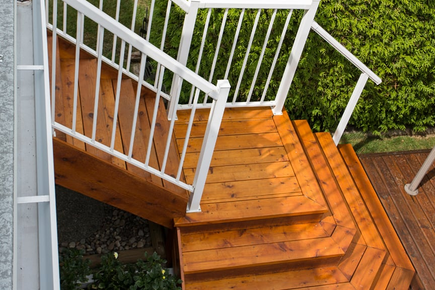 exterior stairs construction | Citywide Sundecks and Railings