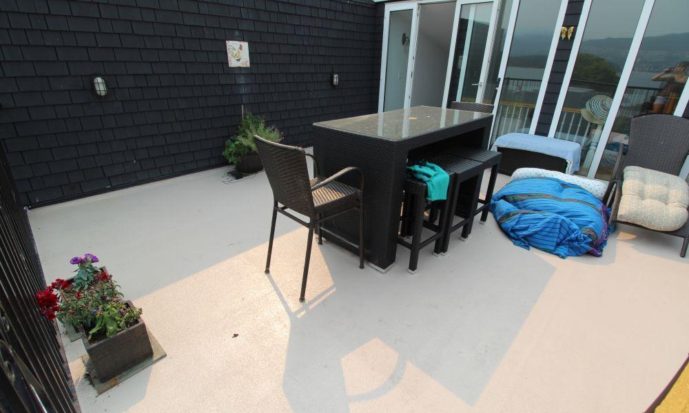 Liquid decking - deck coating membrane application | Citywide Sundecks and Railings