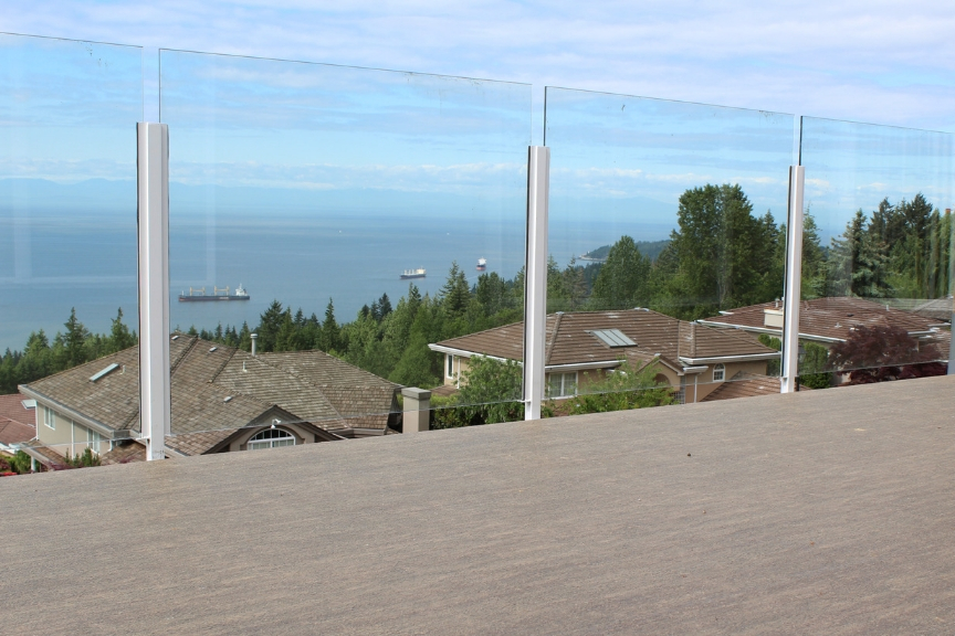 glass railings with a view | citywide sundecks and railings