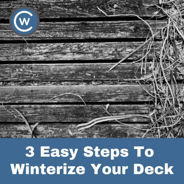 how to winterize your sundeck blog | Citywide Sundecks and Railings