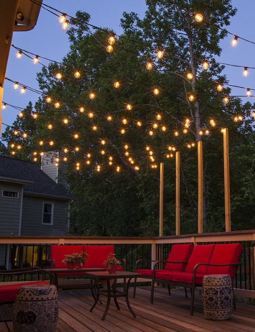 Entertaining Outdoors: Outdoor lighting for entertaining | CItywide Sundecks and Railings
