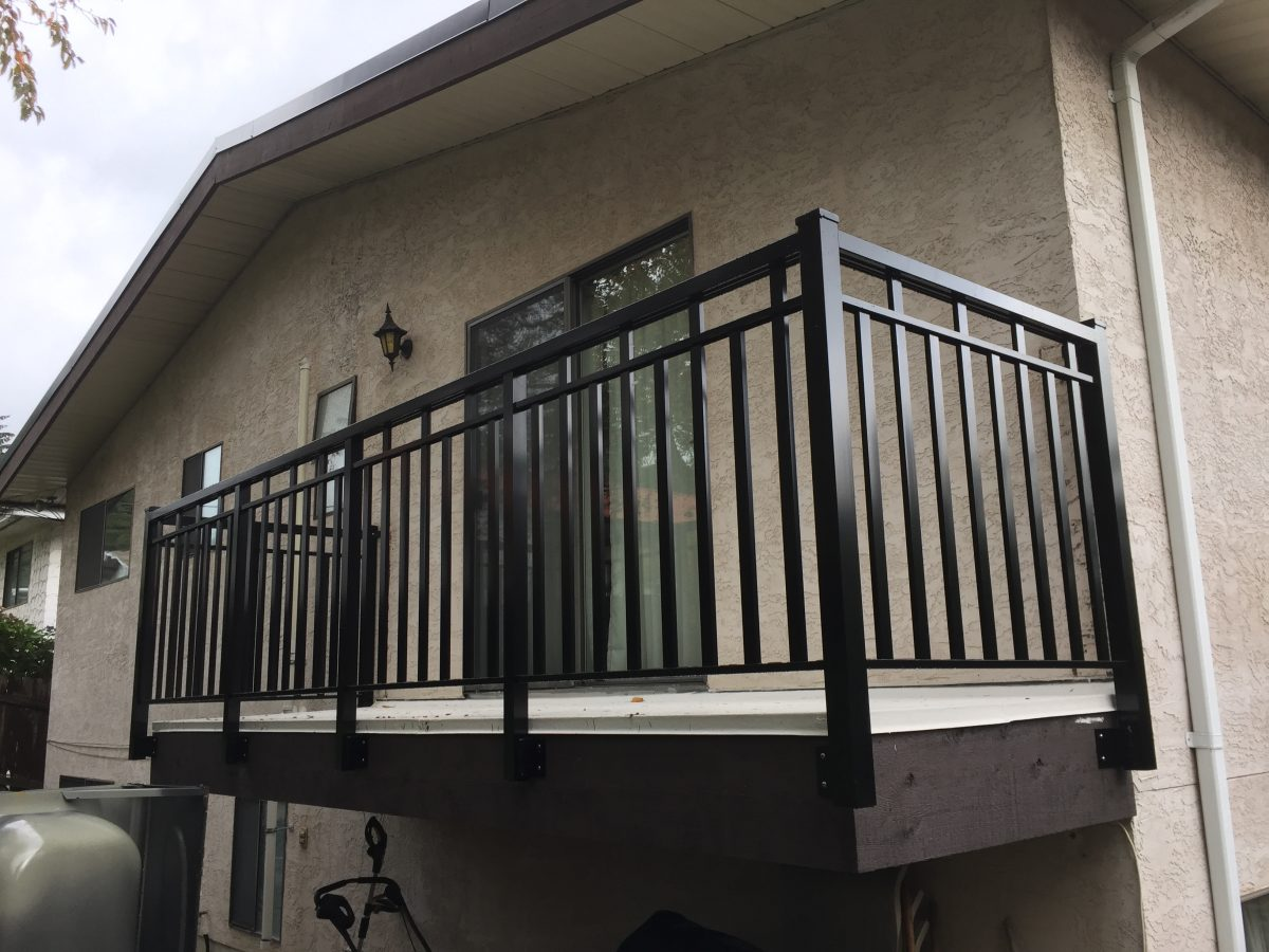 custom aluminum picket railings Wide Puerto Vallarta style | Citywide Sundecks and Railings