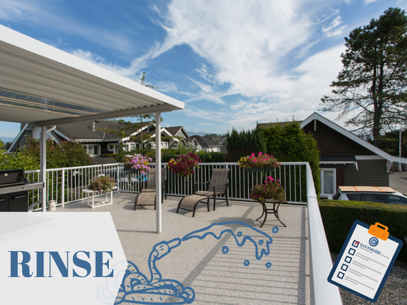spring clean your vinyl sundeck | Citywide Sundecks and Railings