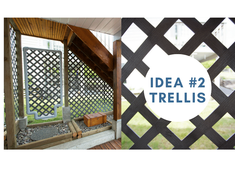 lattice privacy screen vancouver BC | Citywide Sundecks and Railings