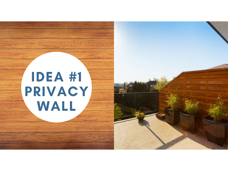customize your deck with privacy walls | Citywide Sundecks and Railings