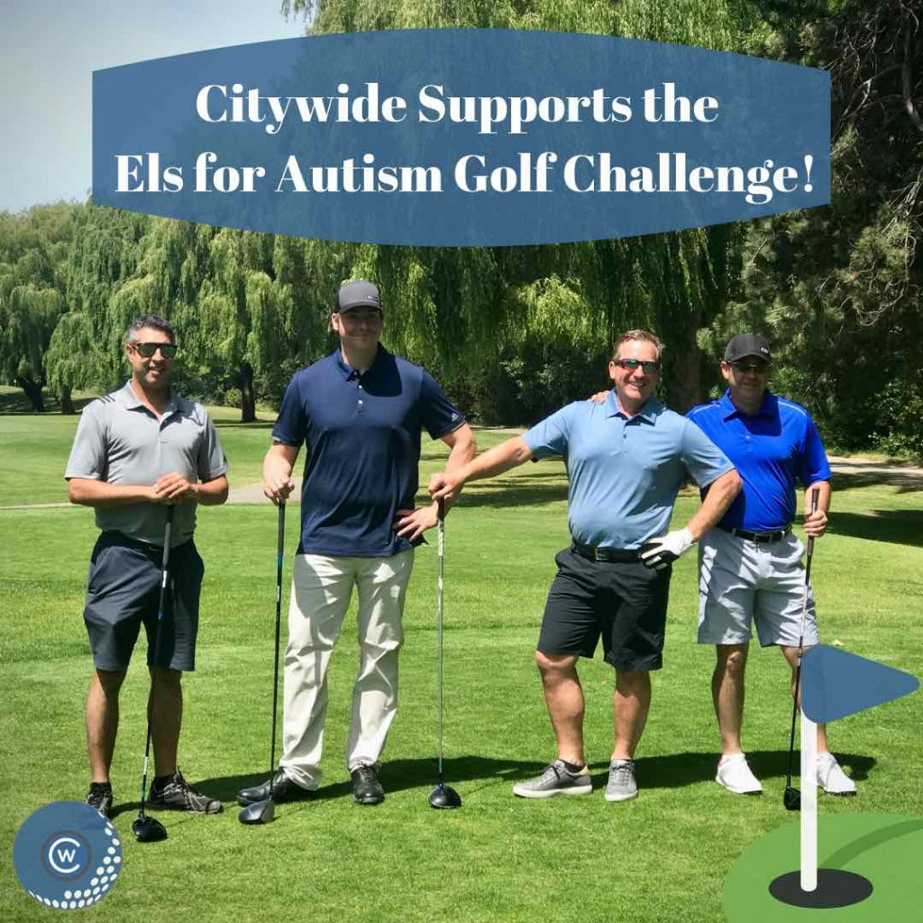 Citywide Sundecks Supporting Els For Autism Golf Challenge